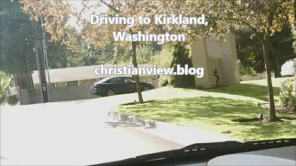 driving to Kirkland library christianview