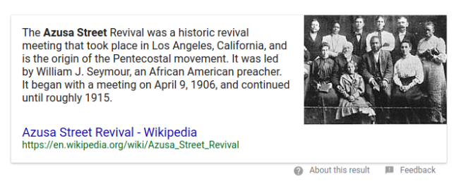 Azuza Wikipedia